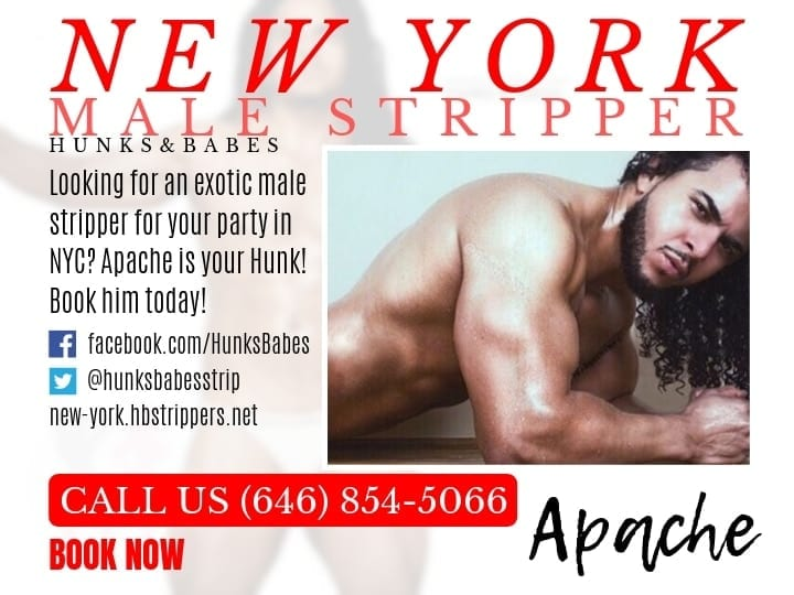 Apache gets all the girls going and loves NYC stripper parties