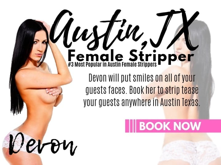 Order one of our hot party stripper in Austin like Devon for your private bachelor party