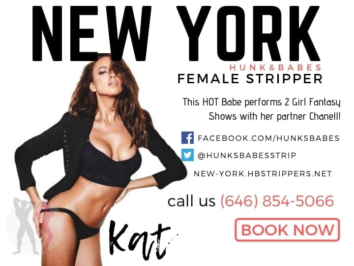 Kat is a hot female who works the best nyc exotic dancer parties