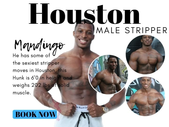 Mandingo is a top entertainer in Houston for the top stripper parties