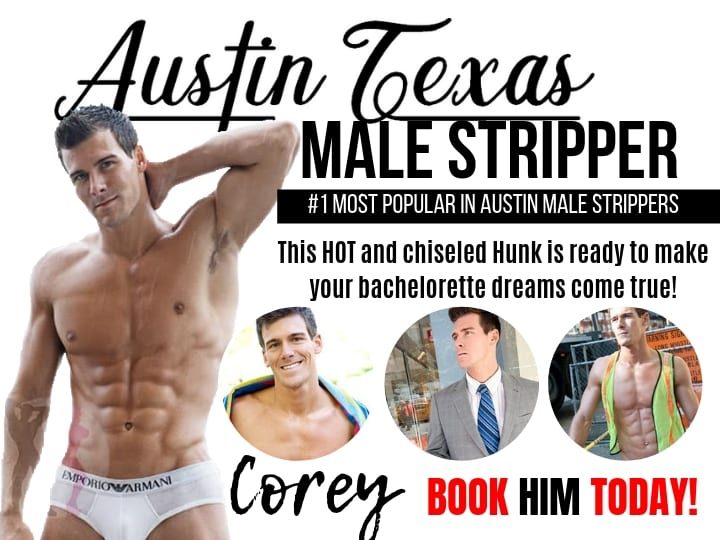 Austin Bachelor party specialist Corey is the entertainer you want at your private event