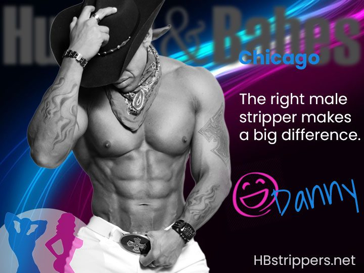 find male strippers in Chicago