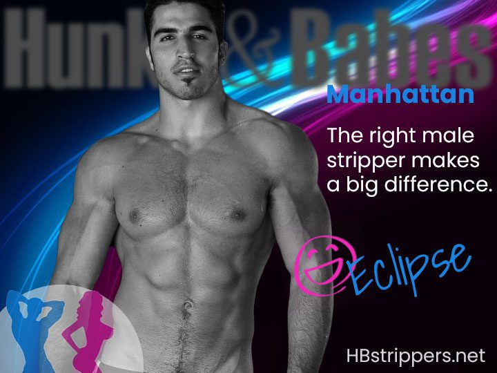Book Romance for an extremely sexy male stripper party in Manhattan