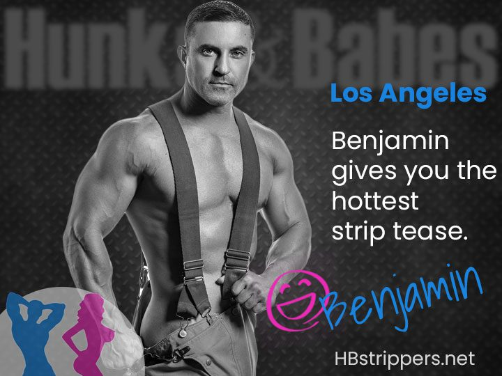 Our guys are ripped and ready to be your Los Angeles strippers for the night