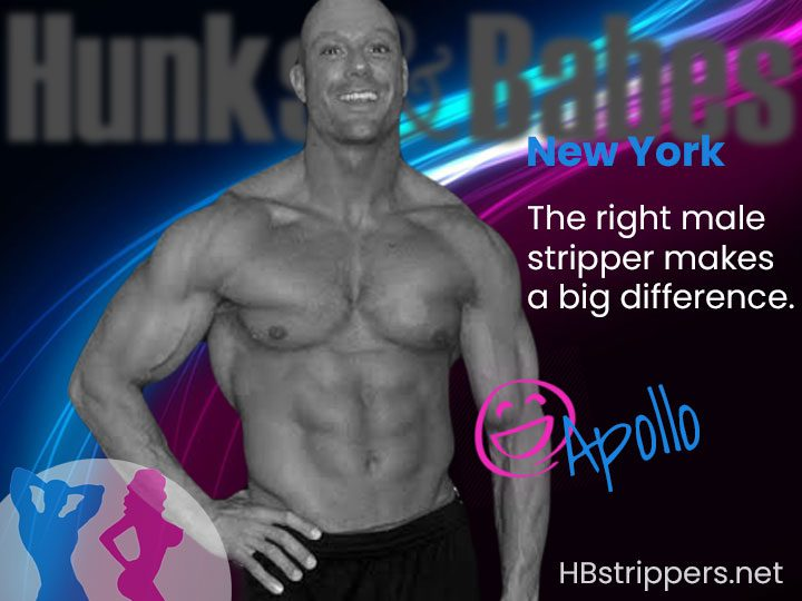 new york city's finest black male stripper at your service