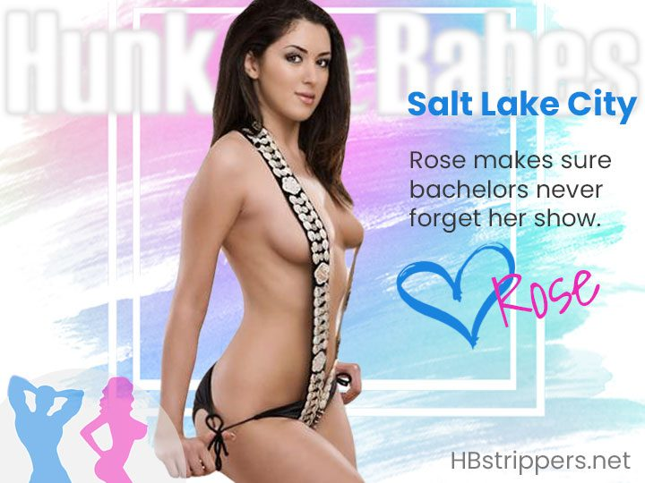 Order Angelica for a hot stripper party in Salt Lake City