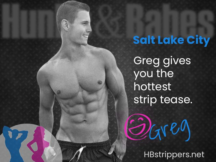 Order a hot Utah male stripper for a hot party in Salt Lake City