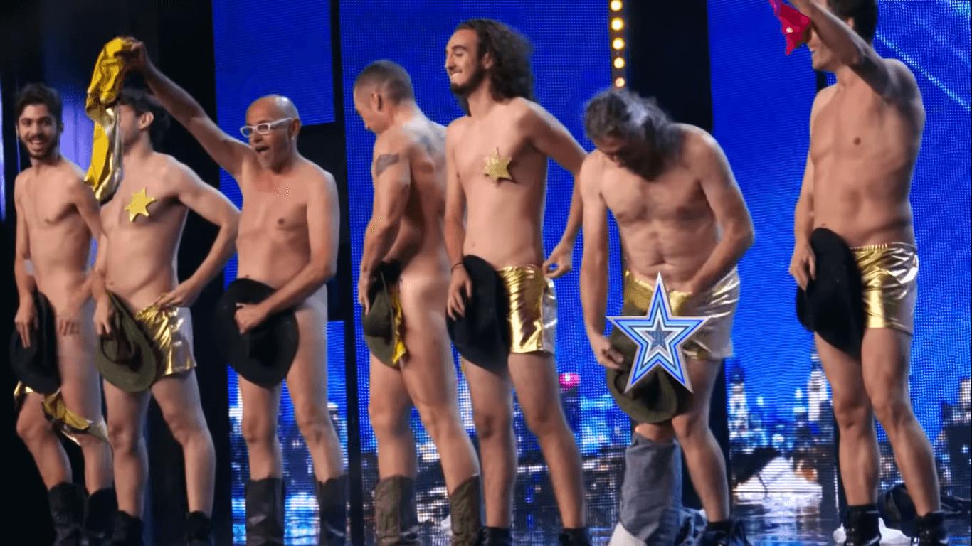 male strippers in spain